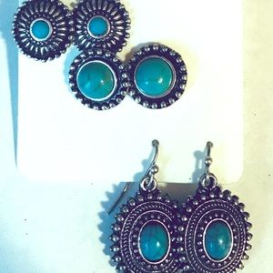Jewelry - 🚫SOLD🚫 Turquoise earring set